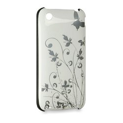 Iphone-skal till Iphone 3 - white flower
