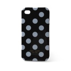 Iphone-skal till Iphone 4 och 4S - Black with white spots