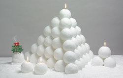 Ljus - snöbollar