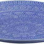 Uppläggningsfat / fruktfat Gracilis Stengods azurblå - Cult Design