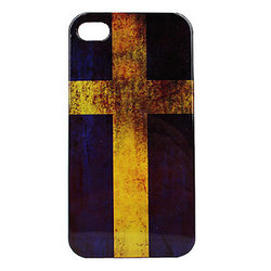 iPhone 4/4S skal - Swedish Flag