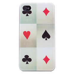 iPhone 4/4S skal - Poker