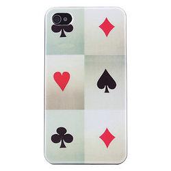 iPhone 4/4S skal - Poker