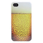 iPhone 4/4S skal - Beer Bubbles