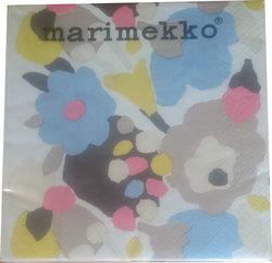 Servett Marimekko - blommig