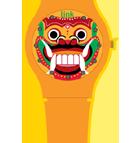 Mask (Orange)