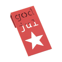 Cult Design - Tag röd god jul