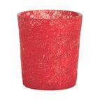 Dixie - Glasfiberlyktor (Röd)