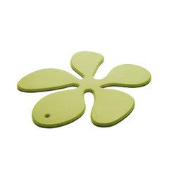 KG Design - Blomma grytunderlägg (Limegrön)